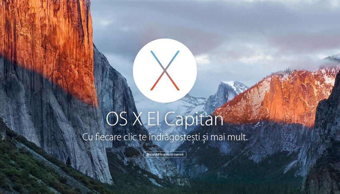 OS X El Capitan 10.11 beta 7 public beta 5