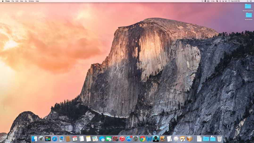 OS X Yosemite 10.10.5 beta build 14F25a