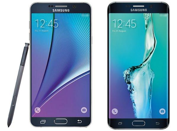 Samsung Galaxy Note 5 si Galaxy S6 Edge imagini presa