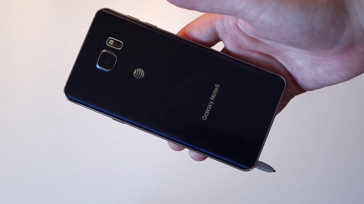 Samsung Galaxy Note 5 stylus introdus gresit