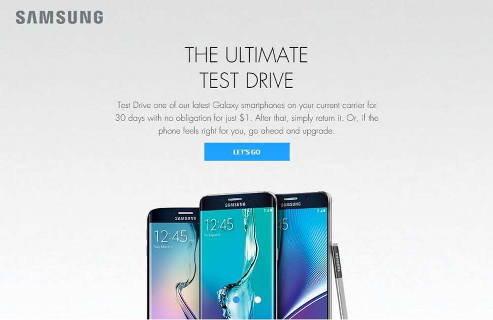 Samsung Galaxy S6 Edge+ testeaza gratuit 1 luna iPhone