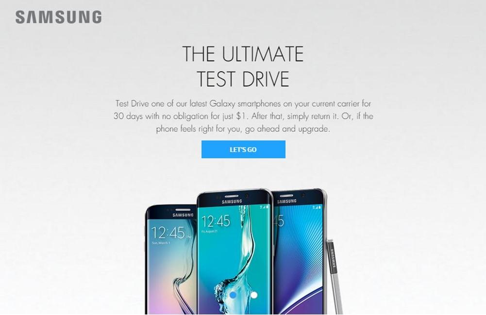 Samsung Galaxy S6 Edge+ testeaza gratuit 1 luna iPhone