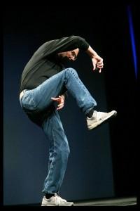 Steve Jobs prezentare iPhone 2G feat