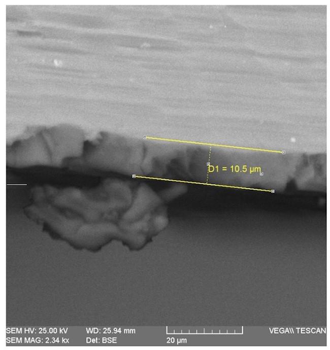 carcasa iPhone 6S analizata microscop