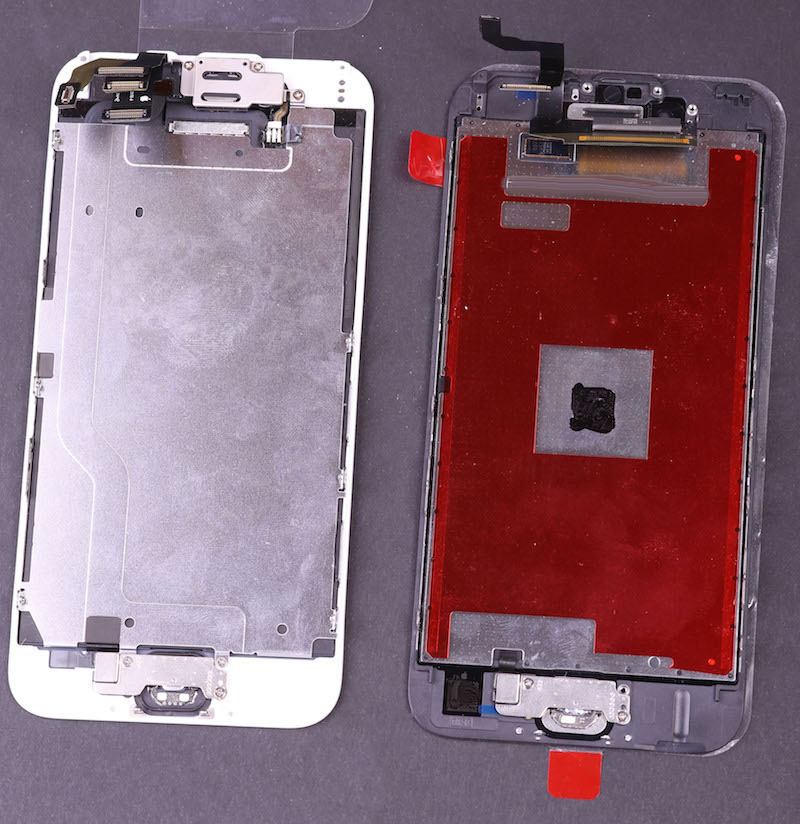 ecranele iPhone 6 si iPhone 6S