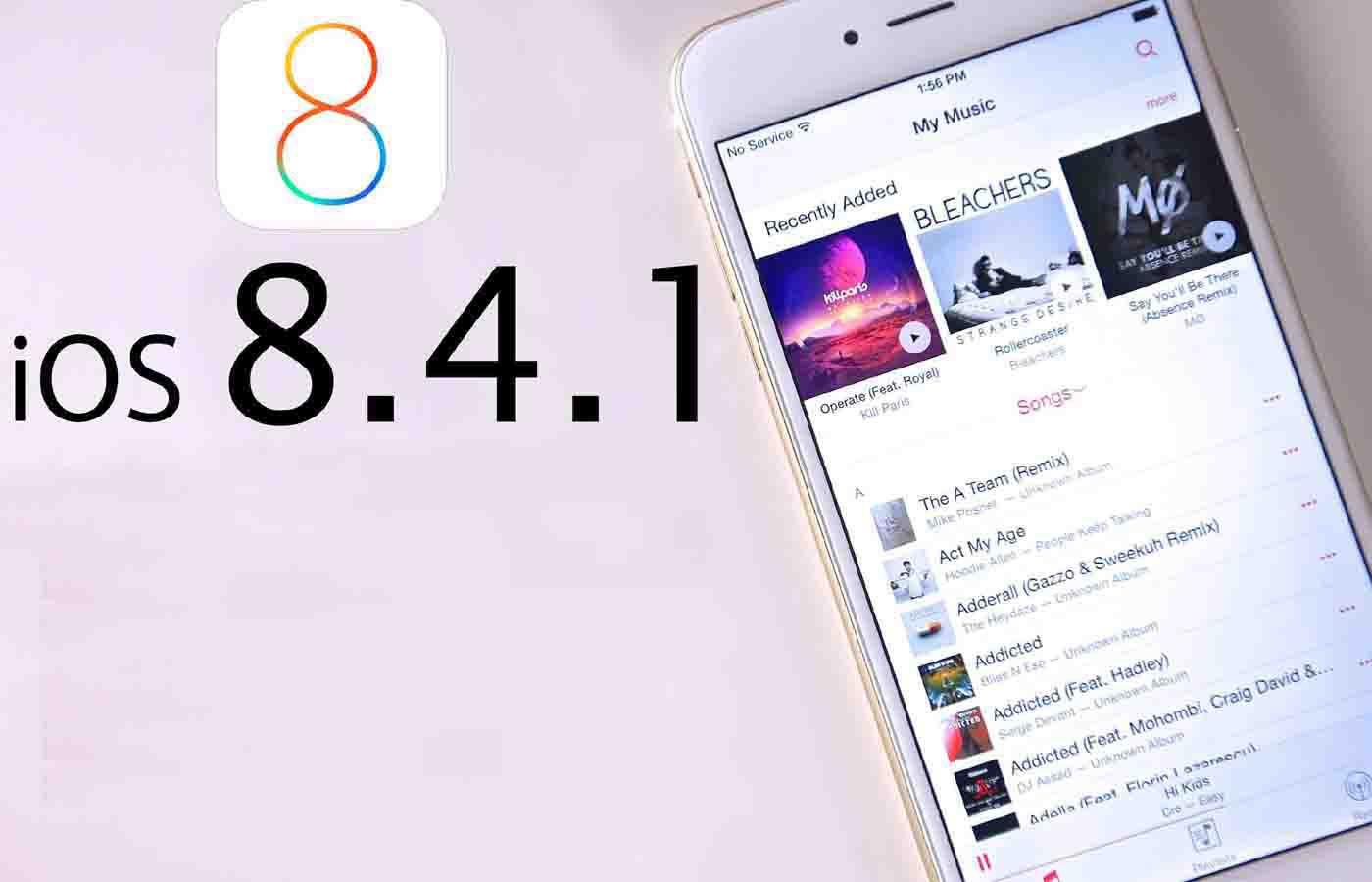 iOS 8.4.1 lansat