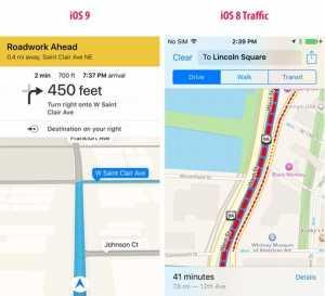 iOS 9 navigare ghidata furnizor date