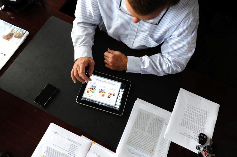 iPad afaceri