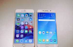 iPhone 6 Plus vs Samsung Galaxy S6 Edge+