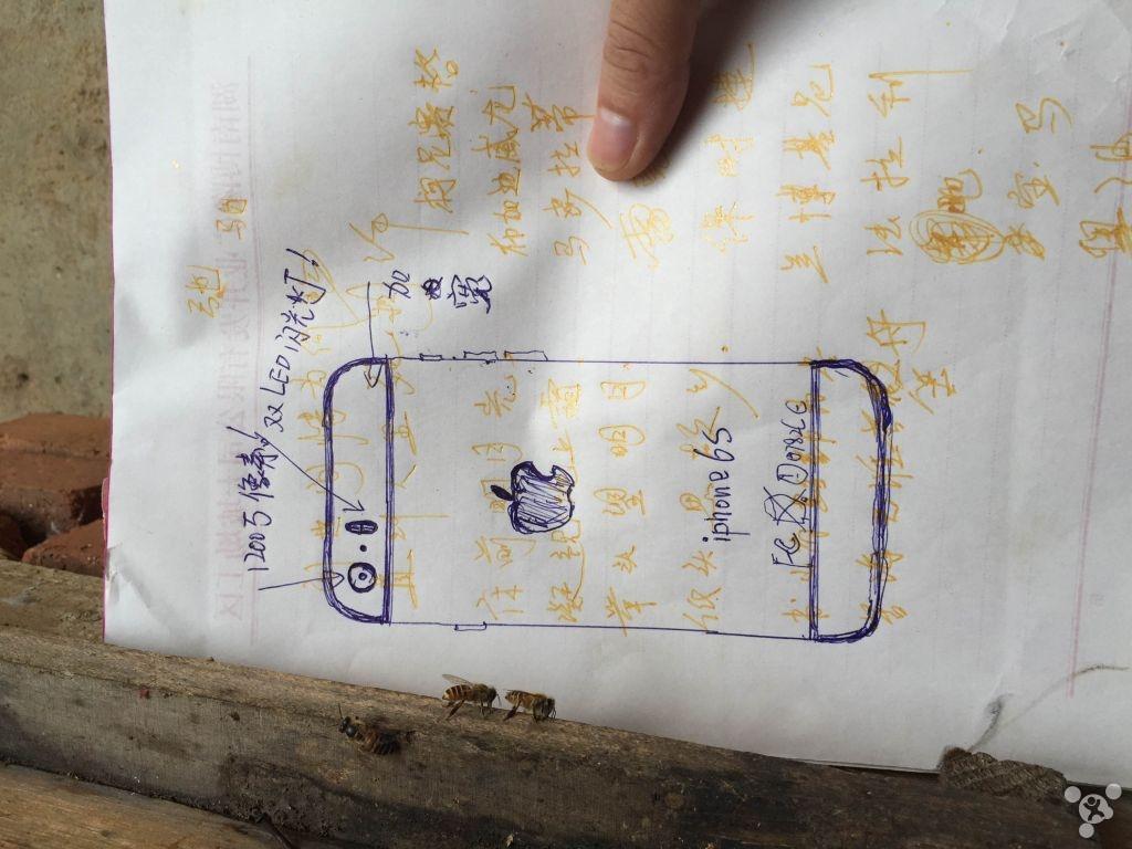 iPhone 6C ecran 5 inch schita