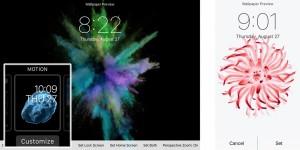 iPhone 6S interfata animata