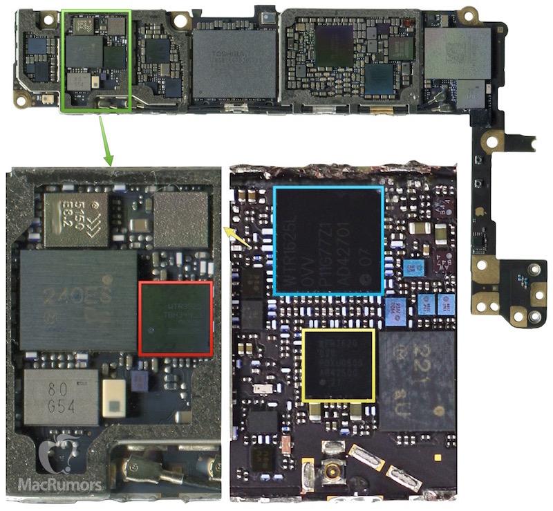 iPhone 6S placa de baza