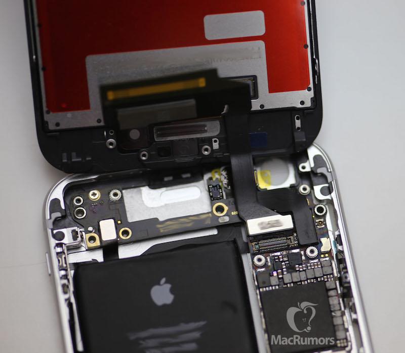 iPhone 6S pornit ecran Force Touch