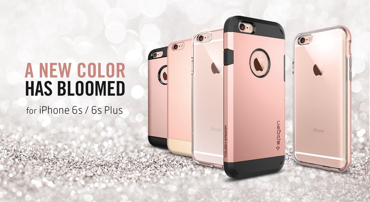 iPhone 6S rose gold spigen