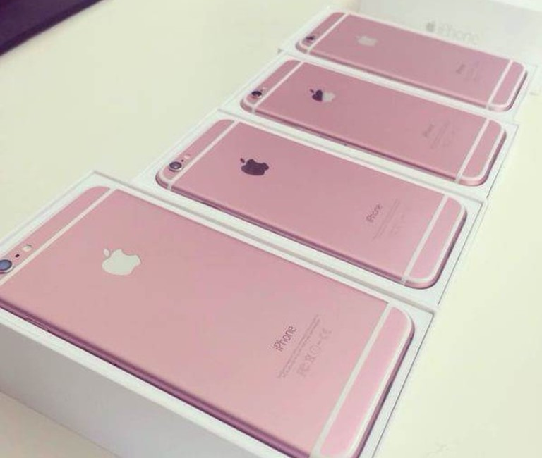 iPhone 6S roz imagini china