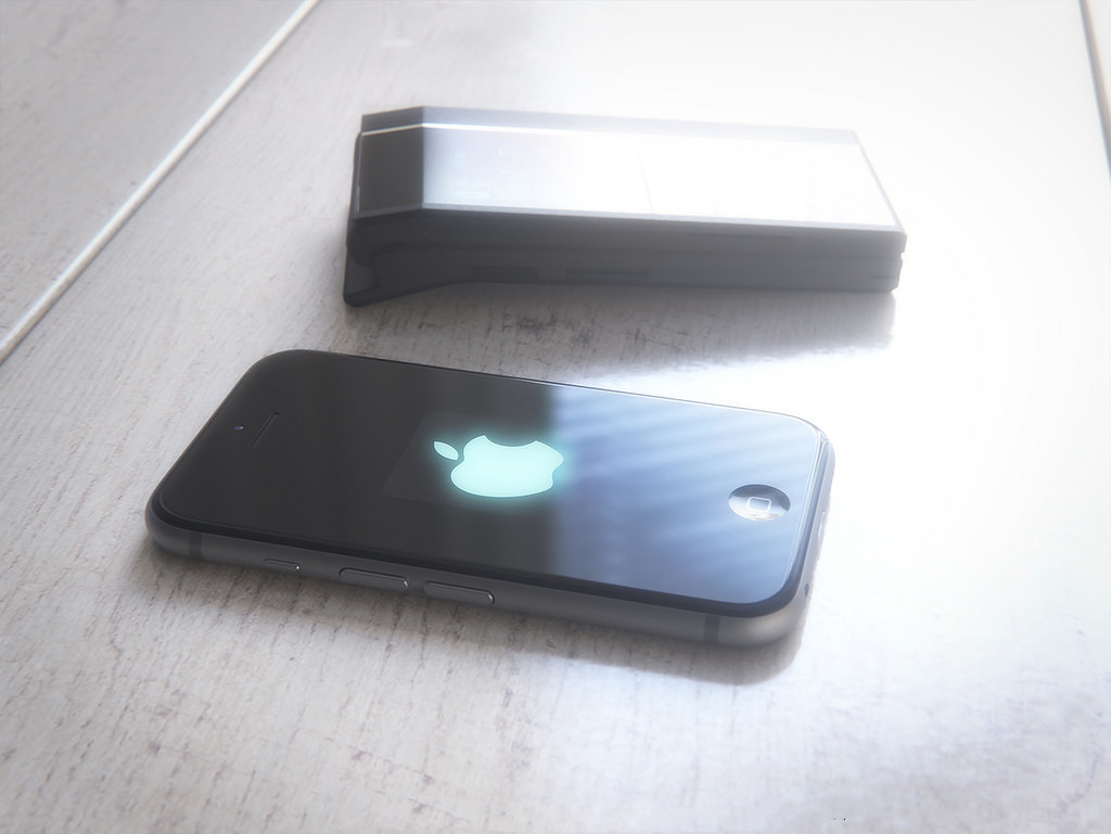 iPhone cu clapita concept 18