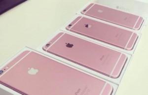 lansare iPhone 6S roz