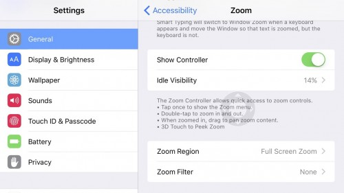 3D Touch functie secreta Zoom iPhone 6S 1
