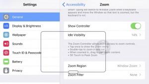3D Touch functie secreta Zoom iPhone 6S