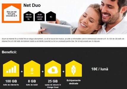 Abonament Orange Net Duo