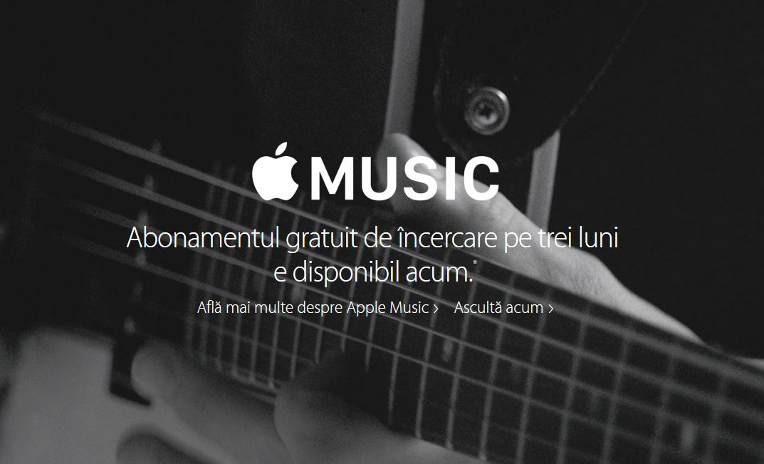 Apple Music Romania abonament