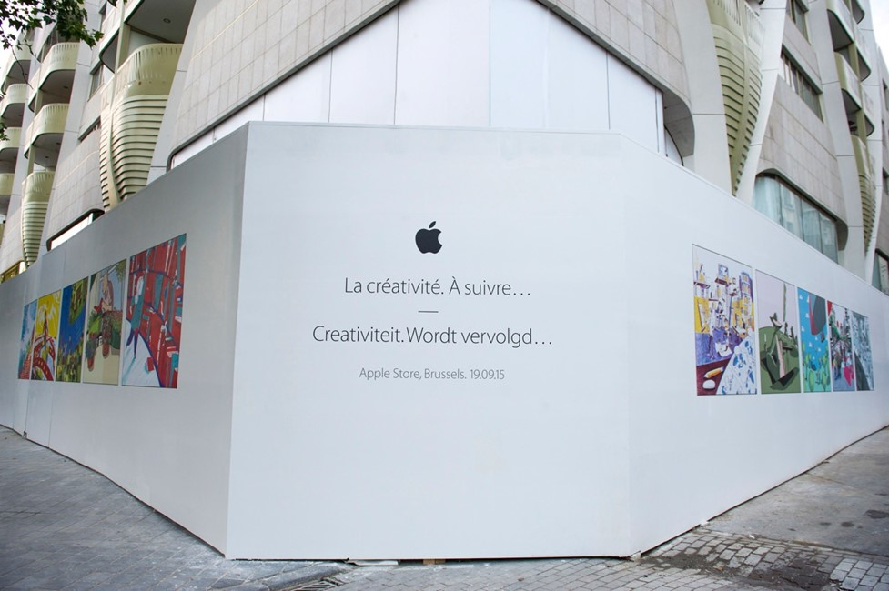 Apple Store Belgia 1