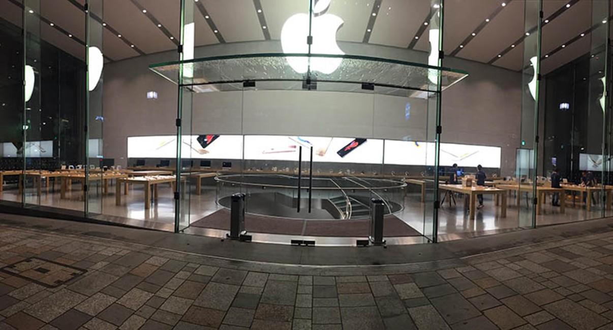 Apple Store amenajare lansare iPhone 6S