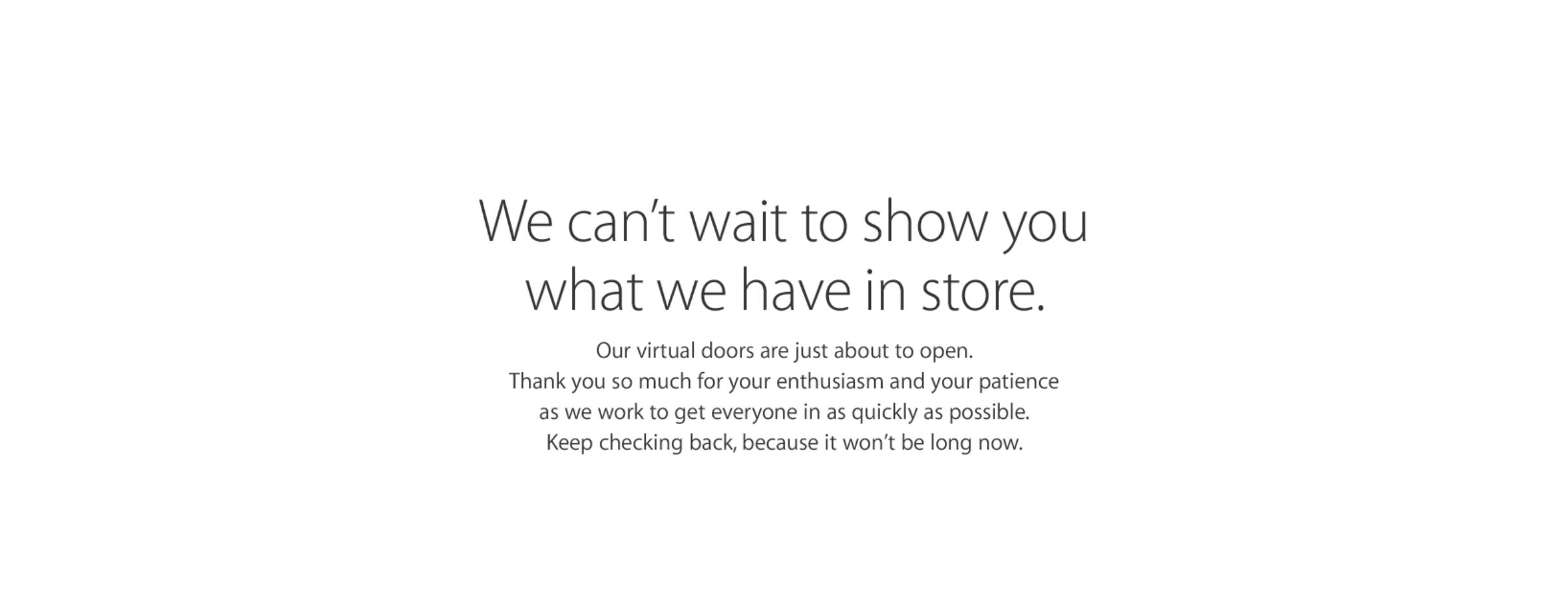 Apple Store inchis precomanda iPhone 6S