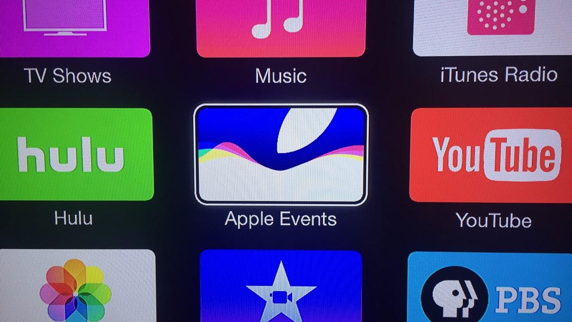 Apple TV conferinta iPhone 6S