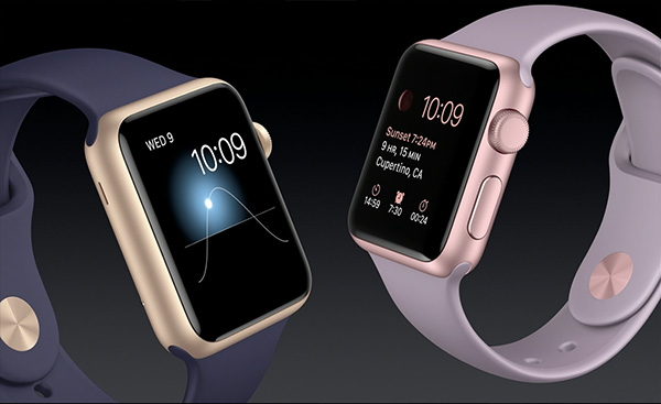 Apple Watch Sport auriu rose gold
