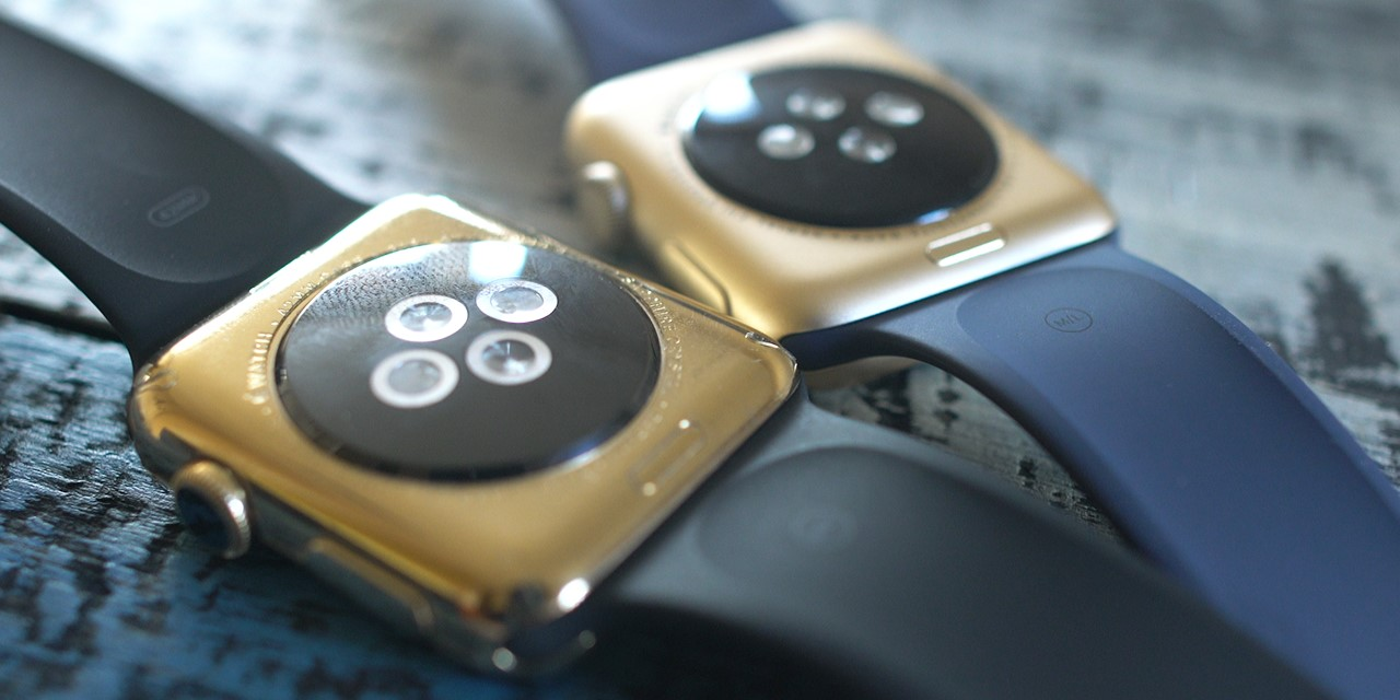 Apple Watch aur vs Apple Watch Sport auriu