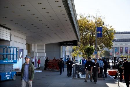 Apple amenajare locatie conferinta iPhone 6S 2