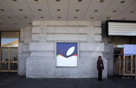 Apple amenajare locatie conferinta iPhone 6S