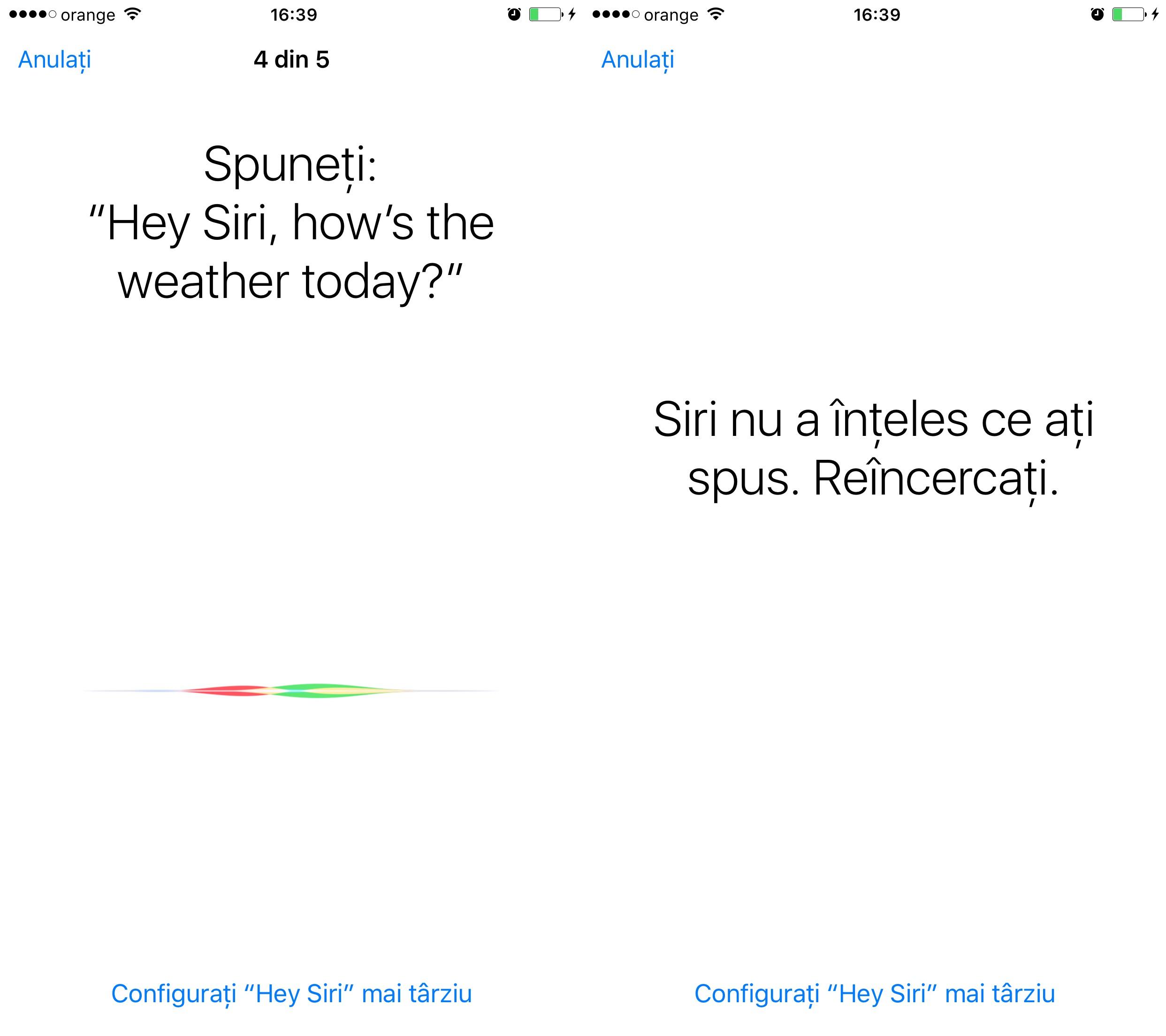 Configurare Hey Siri iOS 9 2