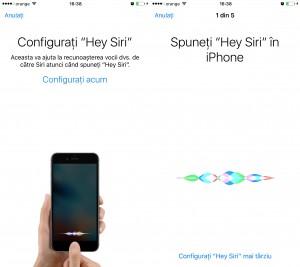 Configurare Hey Siri iOS 9