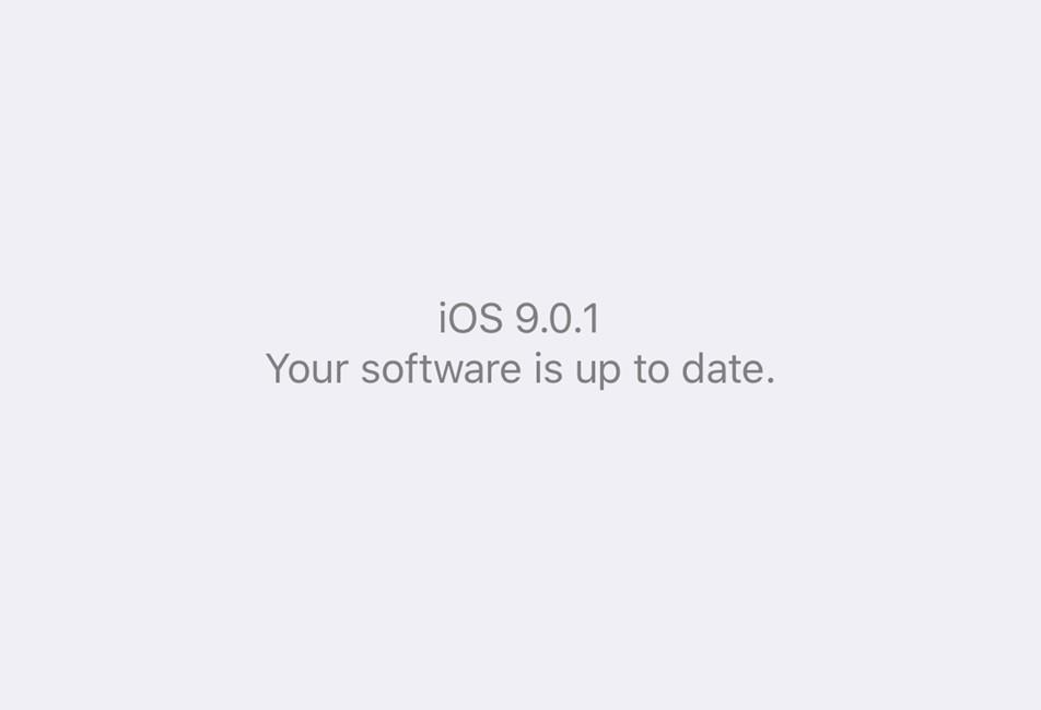Downgrade iOS 9.0.1 la iOS 8.4.1