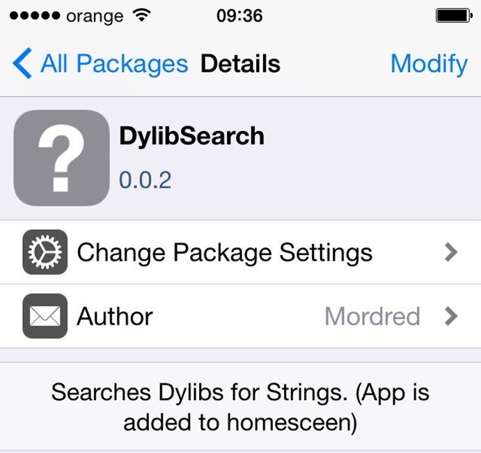 DylibSearch