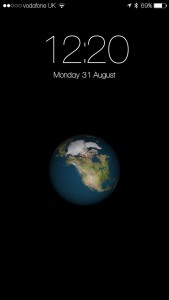 Earth LockScreen