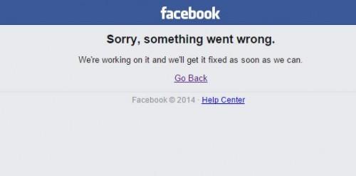 Facebook nu merge