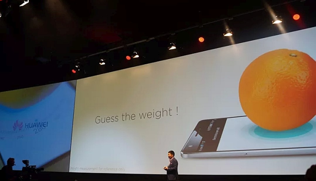 Huawei Mate S cantarire portocala