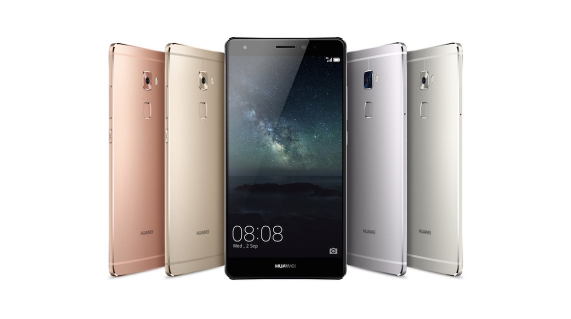 Huawei Mate S smartphone Force Touch