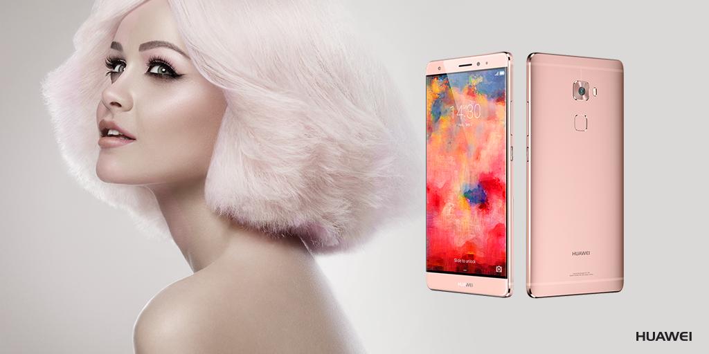 Huawei rose gold