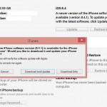 Instalare iOS 9 iTunes