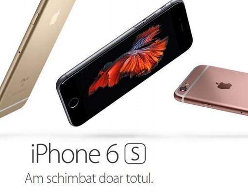 Lansare iPhone 6S si iPhone 6S Plus la Orange, Telekom si Vodafone