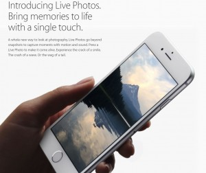 Live Photos iPhone 6S