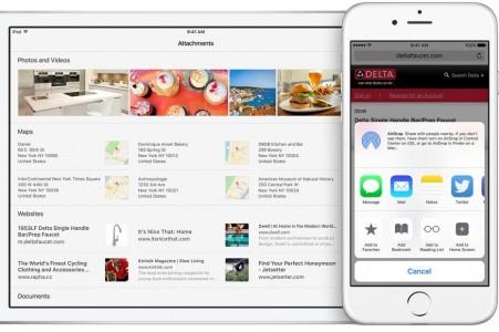 Notite iOS 9