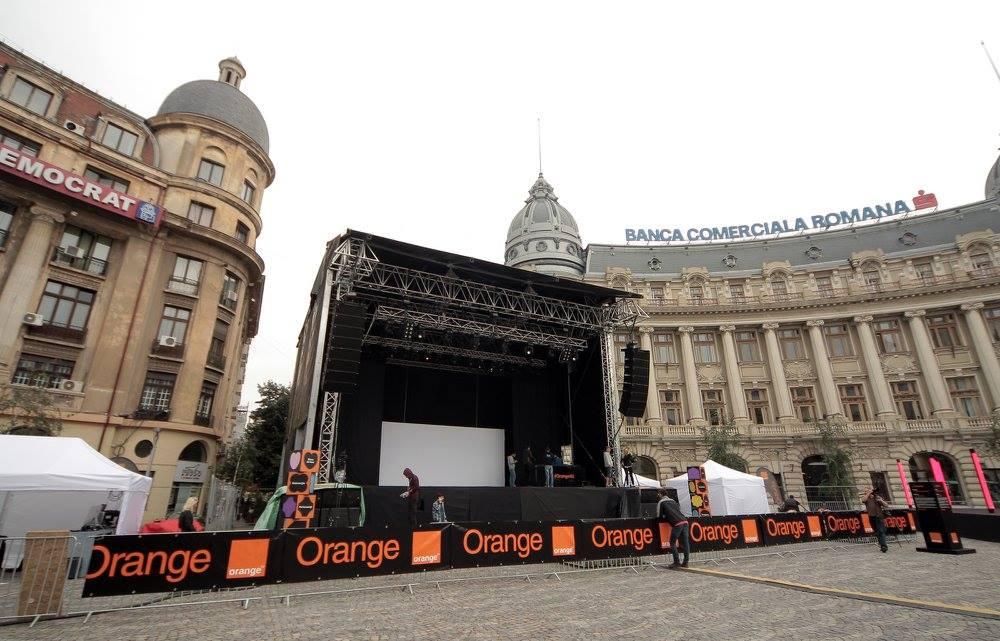 Orange Piata Universitatii