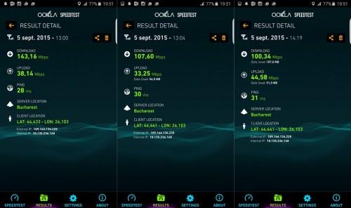 Samsung Galaxy S6 Edge+ conectivitatea 4G+