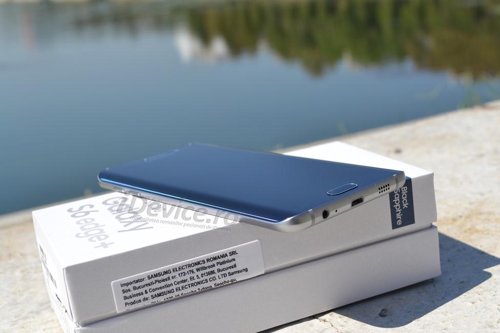 Samsung Galaxy S6 Edge+ conectivitatea 4G+ Orange