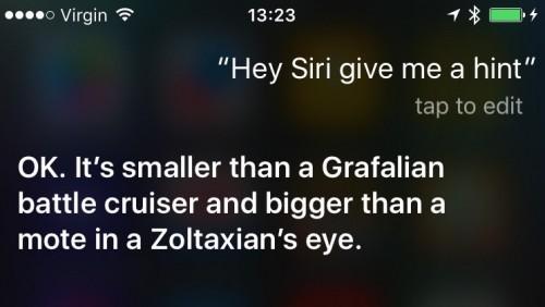 Siri conferinta iPhone 6S 2